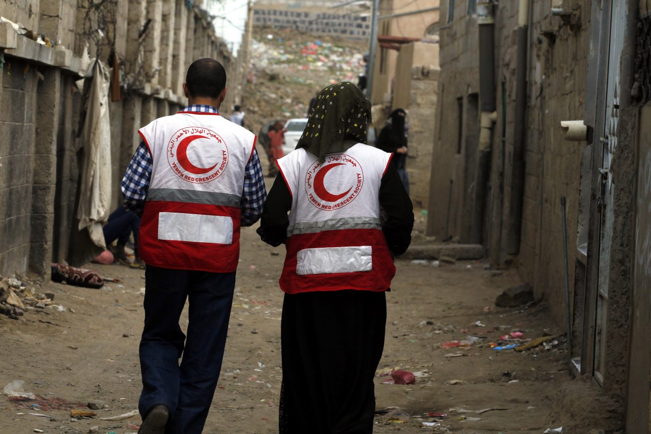 The backbone and the brain – Red Cross Red Crescent